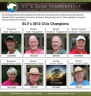 Club Championship at Savannah Lakes Village