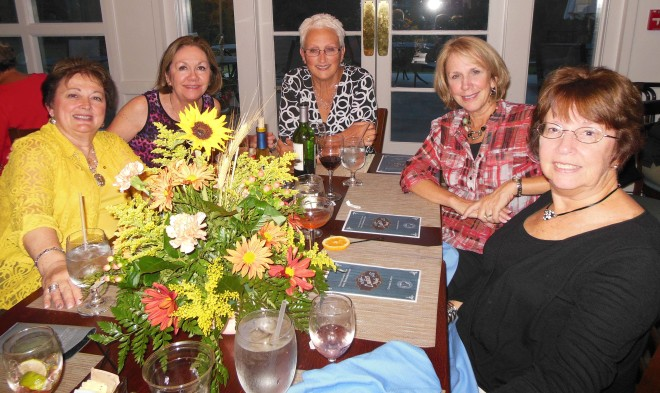 Enjoying Ladies Night this past Thursday at The River Grille at Tara.